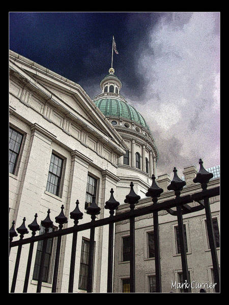 St Louis Courthouse Art Print
