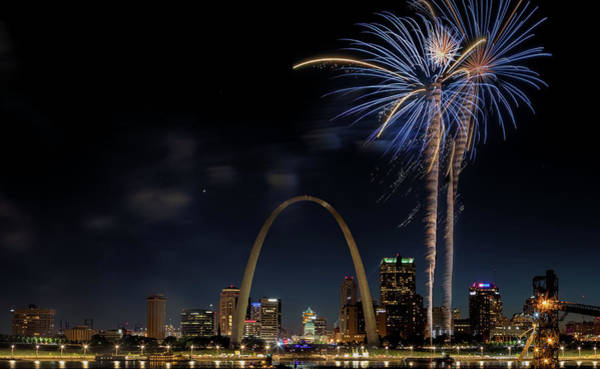 Photograph - St. Louis Independence Day by Susan Rissi Tregoning