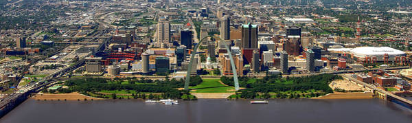 Wall Art - Photograph - St Louis Panorama by Mountain Dreams