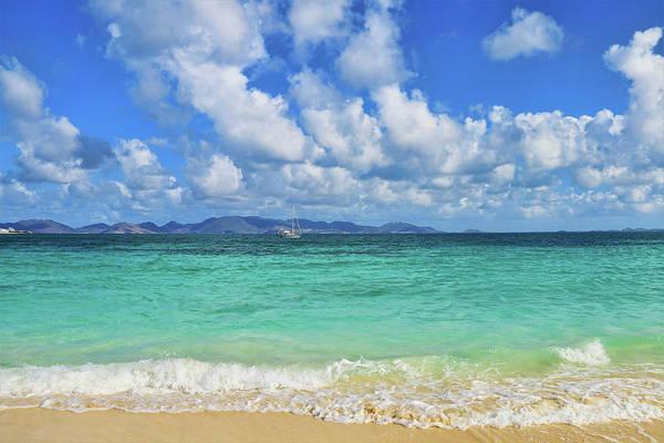 Photograph - St Maarten From Rendezvous Bay In Anguilla by Ola Allen