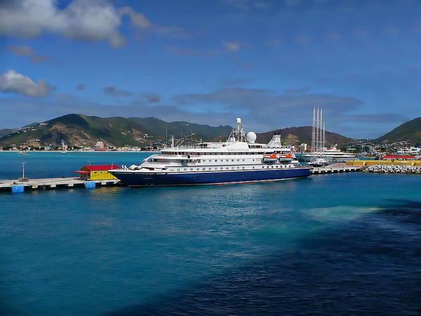 Photograph - St Maarten Harbor by Anthony Dezenzio