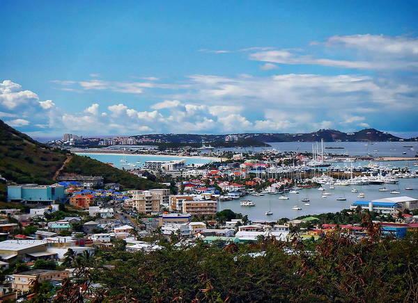 Photograph - St. Maarten Landscape by Anthony Dezenzio