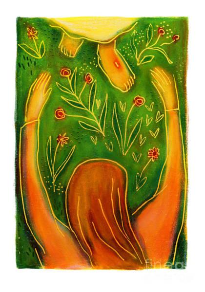 Painting - St. Magdalene At Easter - Jlmae by Julie Lonneman