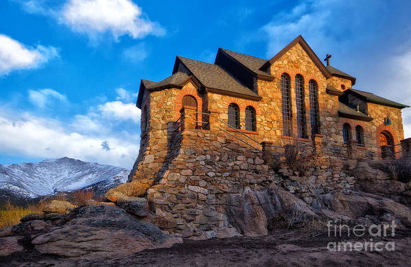 Wall Art - Photograph - St Malo Church, Allenspark Colorado by Ronda Kimbrow