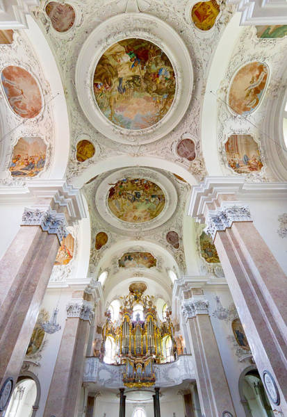 Photograph - St Mang Organ In Fussen by Jenny Setchell