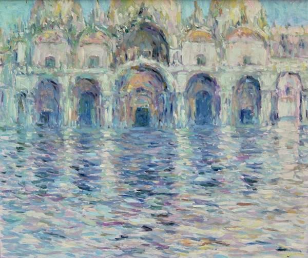 Painting - st-Marco square- Venice by Pierre Van Dijk