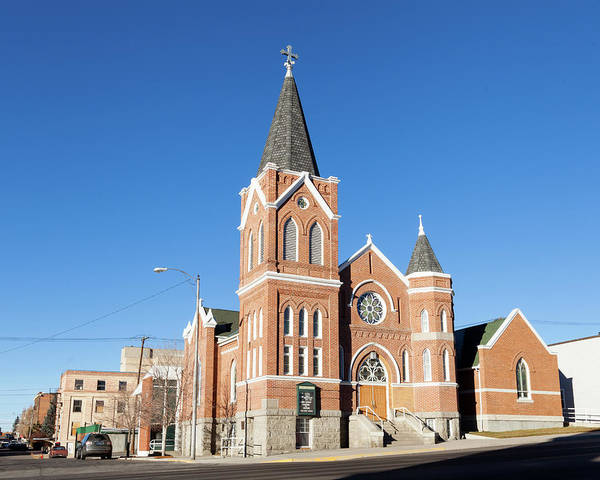 Photograph - St Mark Lutheran Church by Fran Riley