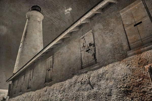Photograph - St Marks Lighthouse by Jim Cook