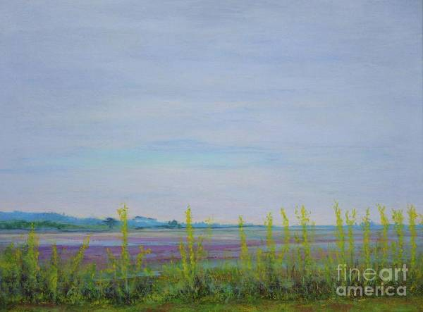 Painting - St. Marks Refuge I - Spring by Gail Kent