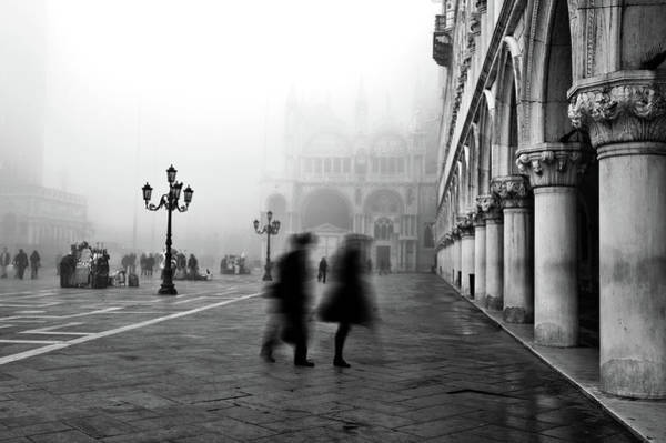 Italy Photograph - St Mark's Square by Marion Galt