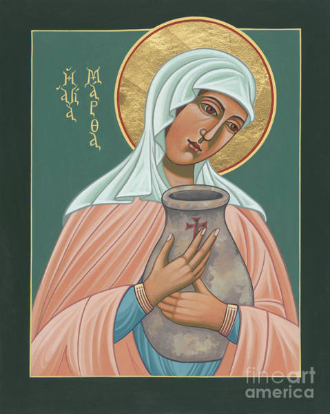 St Martha Of Bethany  Art Print
