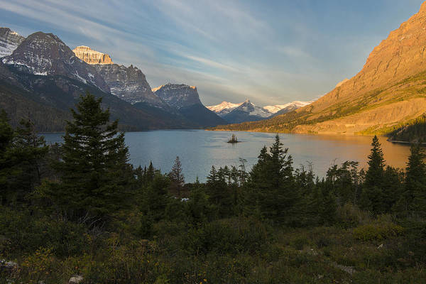 Photograph - St. Mary Lake by Gary Lengyel