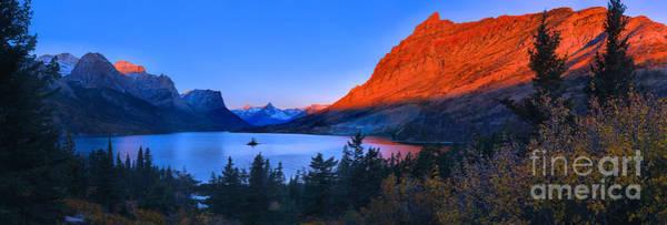 Photograph - St Mary Orange Peaks Panorama by Adam Jewell