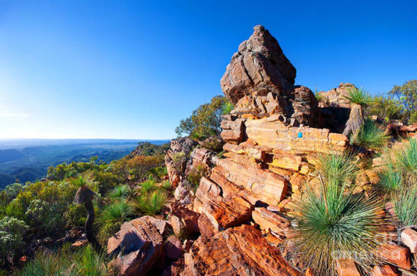 Wall Art - Photograph - St Mary Peak Wilpena Pound by Bill  Robinson