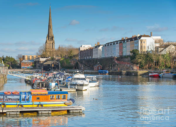 Photograph - St Mary Redcliffe Church, Bristol by Colin Rayner