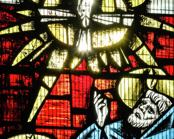Photograph - St Mary Redcliffe Stained Glass Close Up E by Jacek Wojnarowski