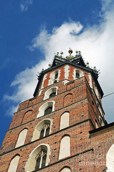 Photograph - St Mary's Catherdal Krakow Poland by Ania M Milo