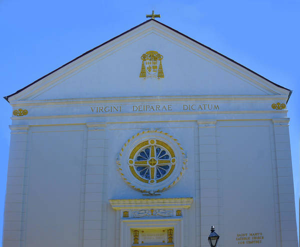 Wall Art - Photograph - St. Mary's Catholic Church, New Orleans by Art Spectrum