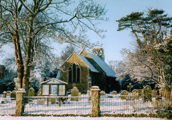 Wall Art - Photograph - St Mary's Church Frinton On Sea by Andy Donald