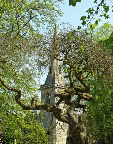 St. Marys Photograph - St Marys Church Through The Trees by Douglas Barnett