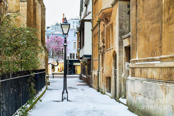 Wall Art - Photograph - St Mary's Passage Oxford In Winter by Tim Gainey
