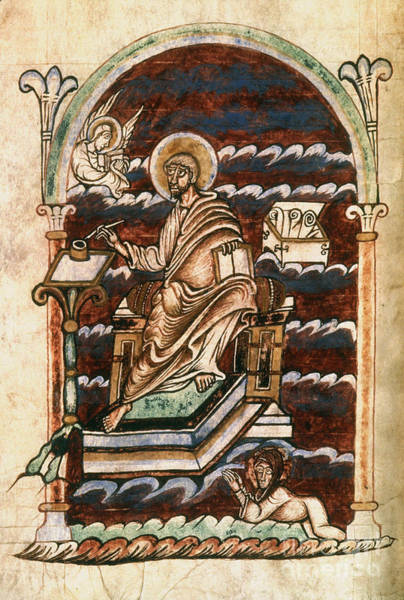 Painting - St. Matthew, 10th Century by Granger