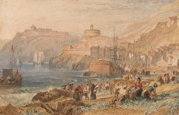 Painting - St Mawes Cornwall by Joseph Mallord William Turner