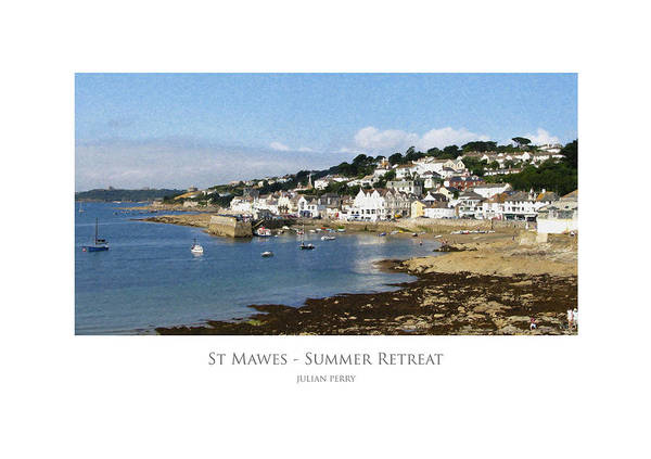 St Mawes - Summer Retreat Art Print