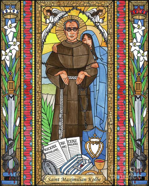 Painting - St. Maximilian Kolbe by Brenda Nippert