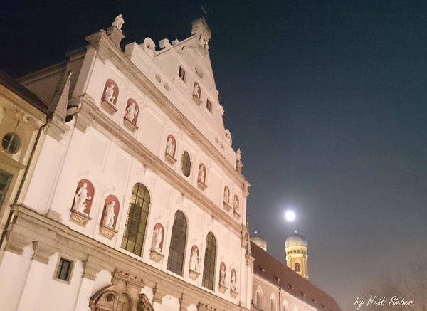 Photograph - St. Michael, Lady And Moon by Heidi Sieber