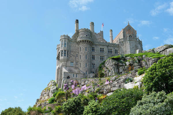 Photograph - St Michael's Mount Castle by Helen Northcott