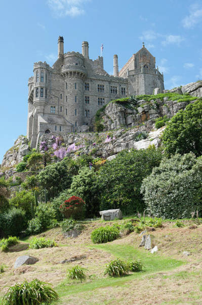 Photograph - St Michael's Mount Castle II by Helen Northcott
