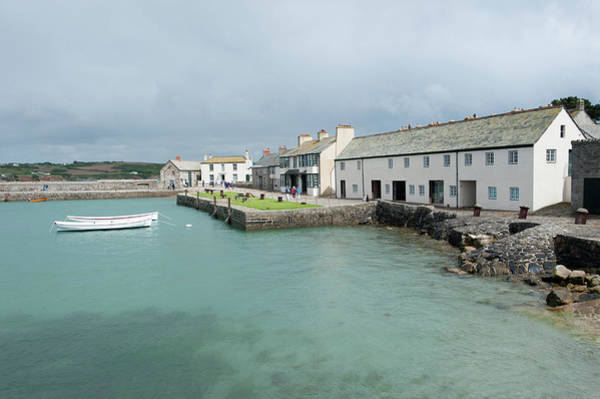 Photograph - St Michael's Mount Harbour by Helen Northcott