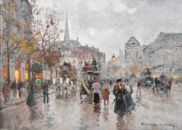 Wall Art - Painting - St. Michael's Square by Edouard Henri Leon Cortes