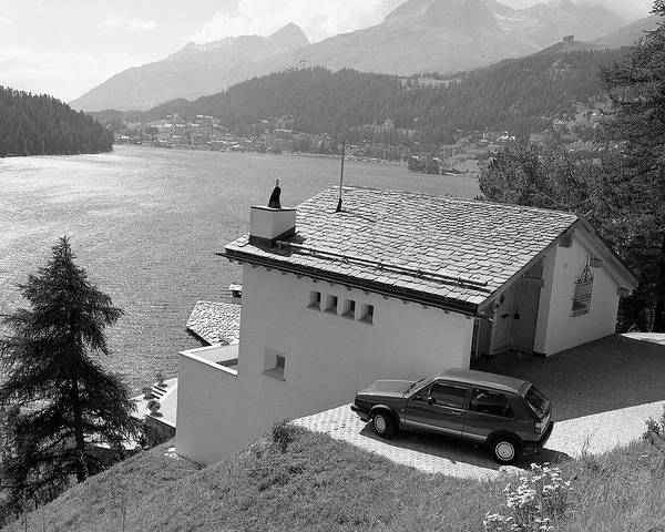 Photograph - St Moritz by Jim Mathis
