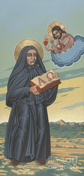 Painting - St Mother Cabrini  Missionary Of The Sacred Heart 209 by William Hart McNichols
