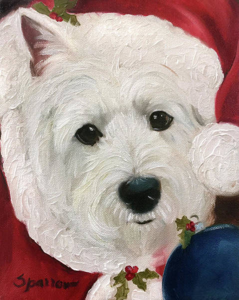 Wall Art - Painting - St. Nick by Mary Sparrow