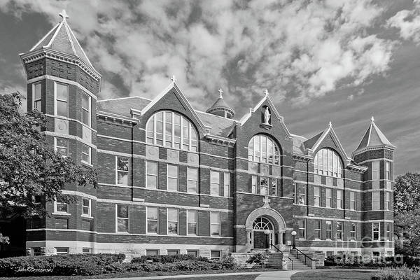 Photograph - St. Norbert College Main Hall by University Icons
