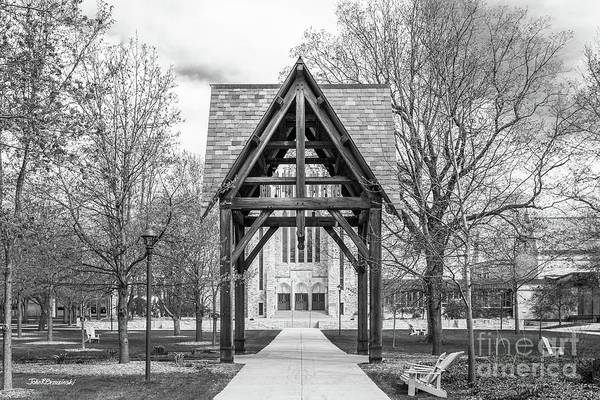 Photograph - St. Olaf College Wind Chime Memorial by University Icons
