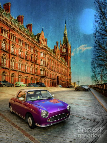 Luxury Hotel Photograph - St. Pancras London by Adrian Evans