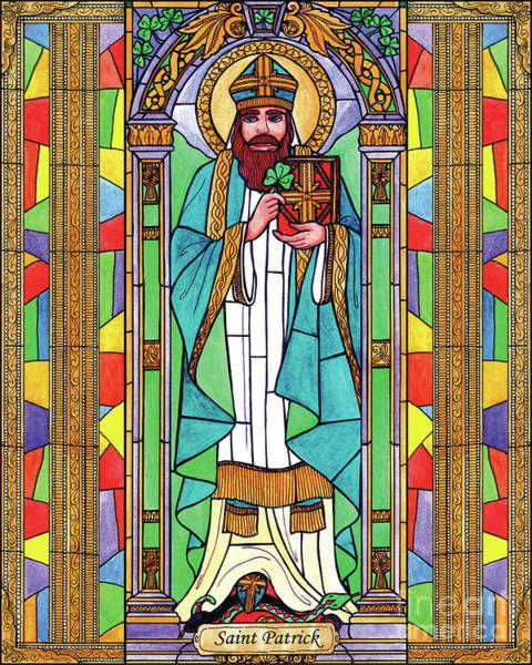Painting - St. Patrick by Brenda Nippert
