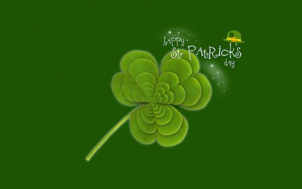 Design Digital Art - St. Patrick's Day by Maye Loeser