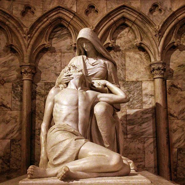 Photograph - St Patrick's Pieta II by Jessica Jenney