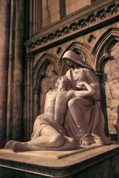 Photograph - St Patrick's Pieta by Jessica Jenney