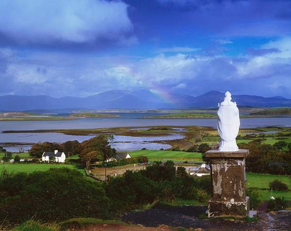 Horizontally Photograph - St Patricks Statue, Co Mayo, Ireland by The Irish Image Collection