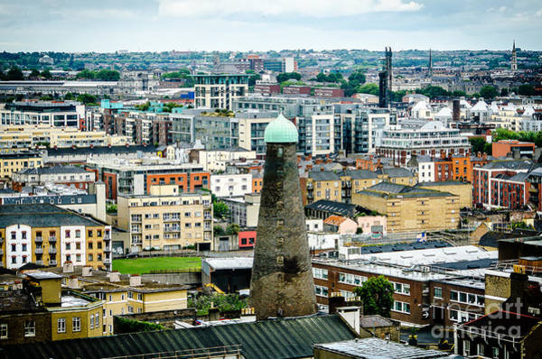 Photograph - St Patricks Tower From Guinness Brewery In Dublin by RicardMN Photography