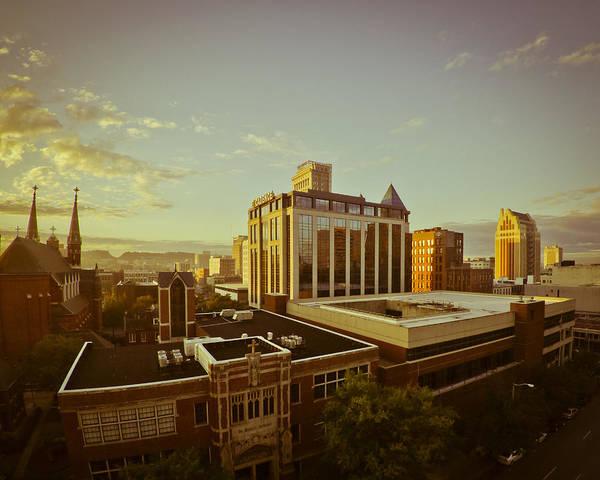Photograph - St. Paul Sunrise by Just Birmingham