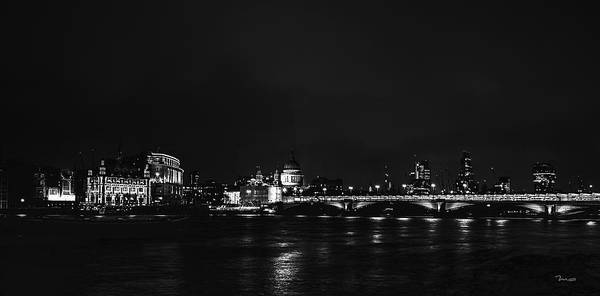 Photograph - St. Paul's At Night by Mark Taylor