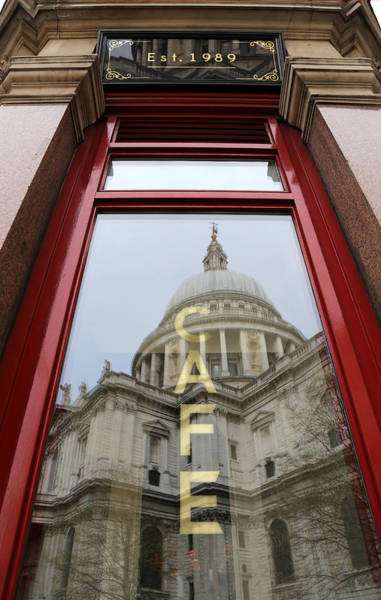 Photograph - St. Pauls Cathedral 1 by Andrew Fare