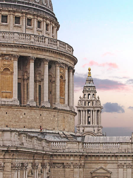 Photograph - St Pauls Cathedral Detail by Gill Billington